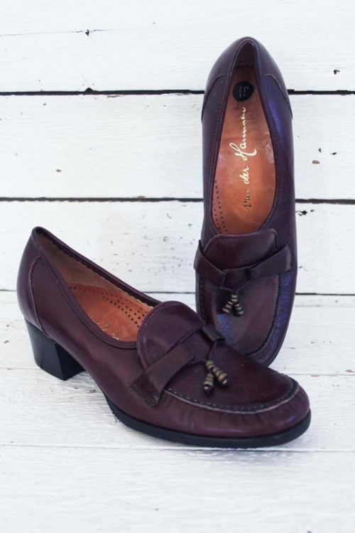 Klassieke vintage schoentje.
