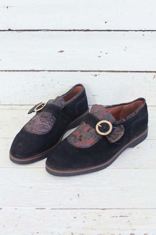 Suède vintage schoentjes