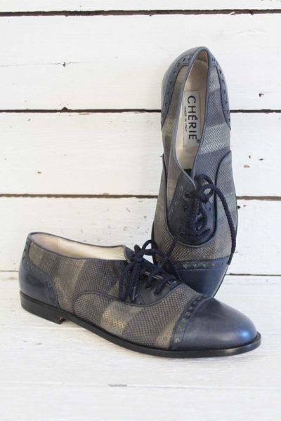 vintage lage schoenen