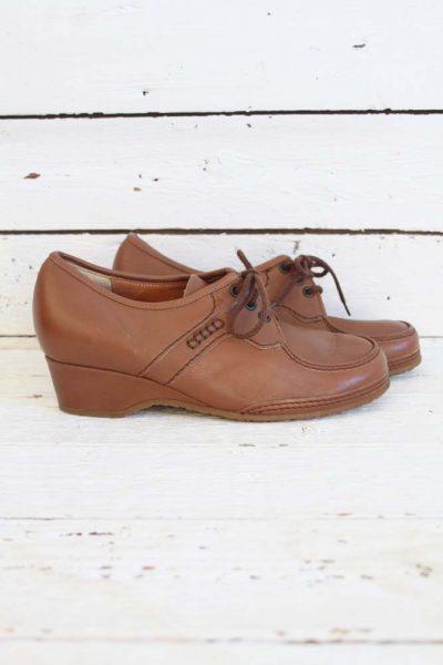 sleehak vintage schoenen