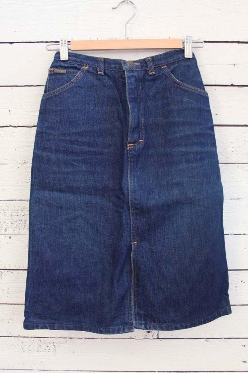 vintage jeansrok