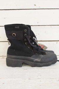 Ongedragen vintage schoenen.