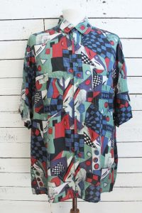 90s heren blouse