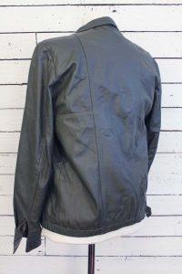 vintage leren jasje