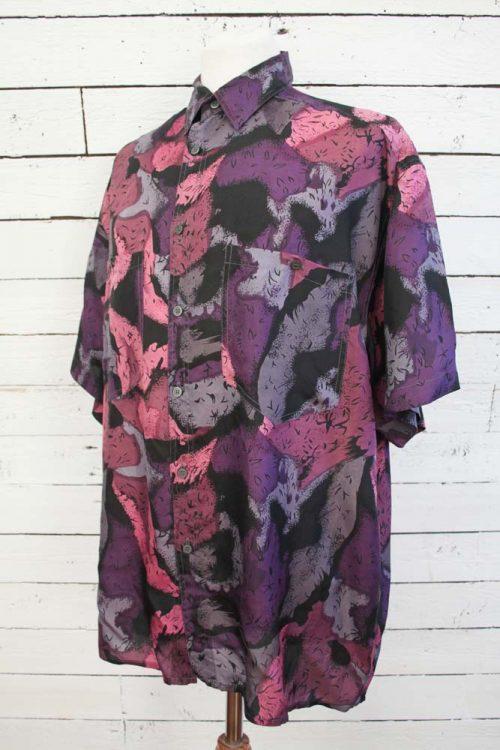 vintage heren blouse