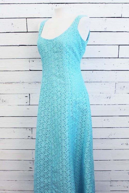kanten vintage jurk
