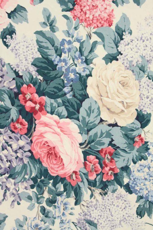 vintage rozen gordijnen