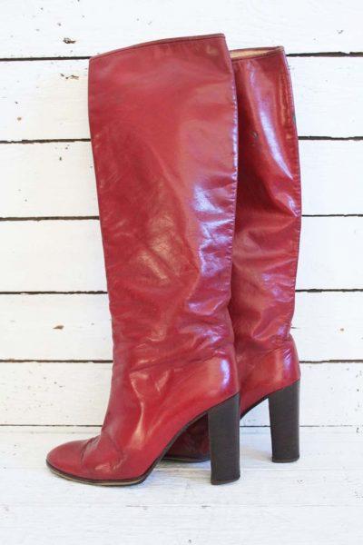 vintage highheel boots