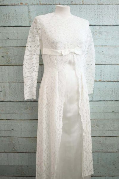 Vintage jurk van prachtig kant.