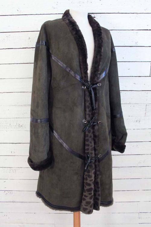 Prachtige vintage Escada lammy coat!