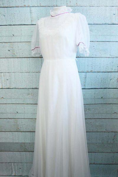 Vintage Vera Mont trouwjurk.